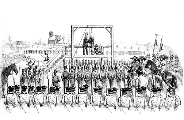 Execution Of John Brown, American Print by Photo Researchers