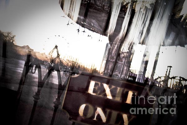 Exit Only Print by Pixel Perfect by Michael Moore
