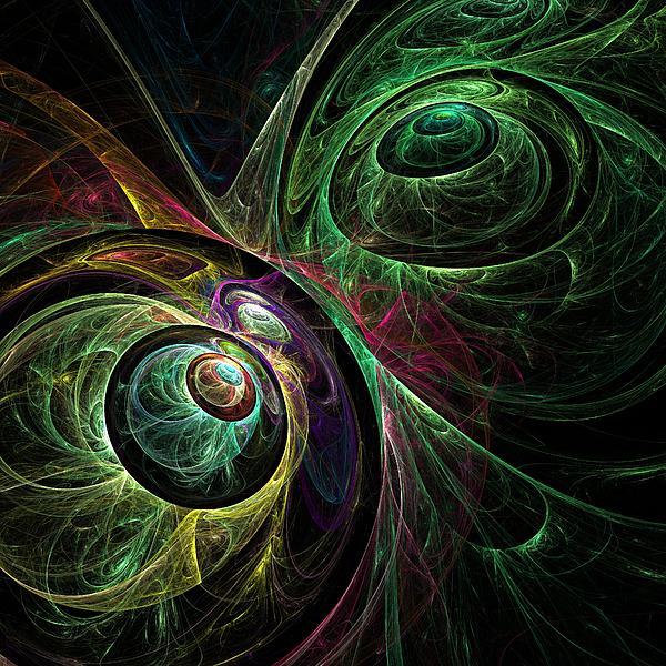 Eye To Eye Print by Oni H