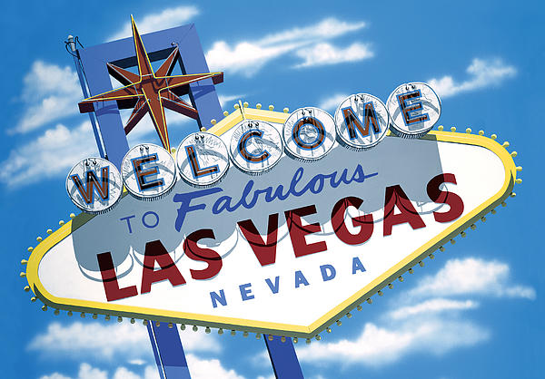 Faboulous Las Vegas Print by Anthony Ross