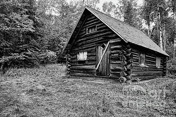 Fabyan Guard Station - White Mountains New Hampshire Usa Print by Erin Paul Donovan