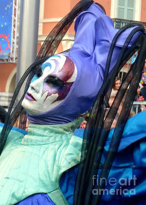 Anna  Duyunova - Faces of Carnival.Blue