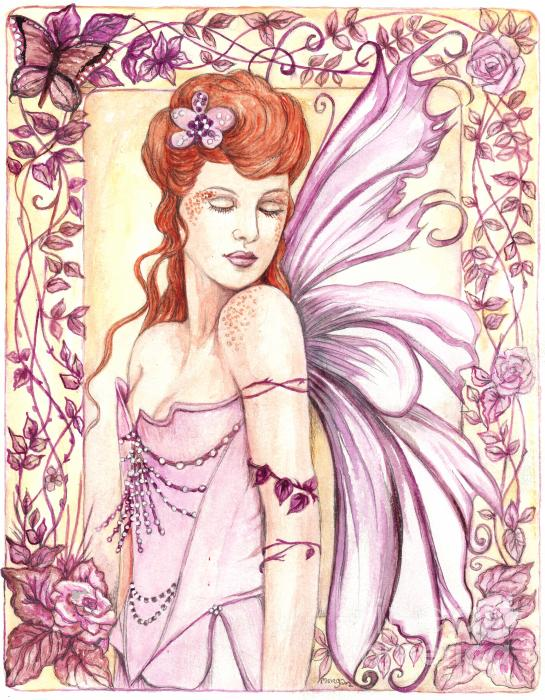 Fairy Collection 2 Print by Morgan Fitzsimons