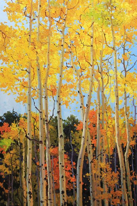 Gary Kim - Fall Aspen Santa Fe