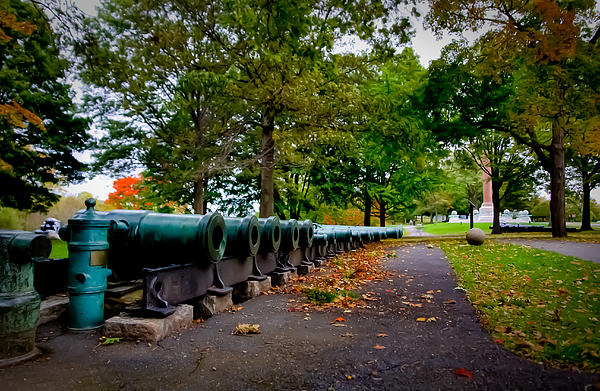 Fall At West Point Print by David Hahn