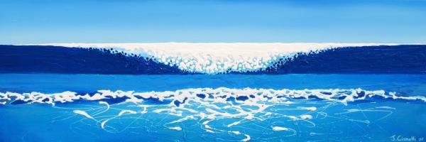 Falling Sea Print by Jaison Cianelli