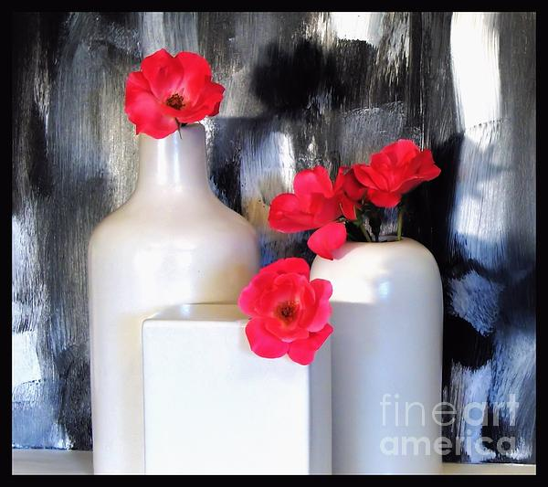 Family Of Roses Print by Marsha Heiken