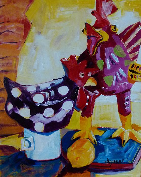 Suzanne Willis - Fancy Chickens