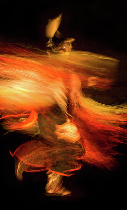 Fancy Dancer Print by Jeremiah Armstrong
