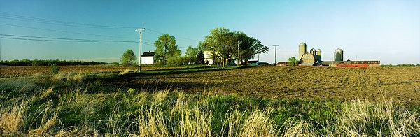 Farm On Nn Print by Jan Faul
