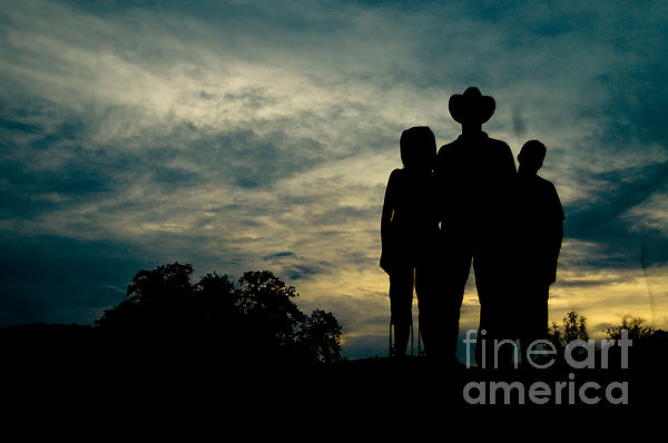 Farmer Family Print by Andre Babiak