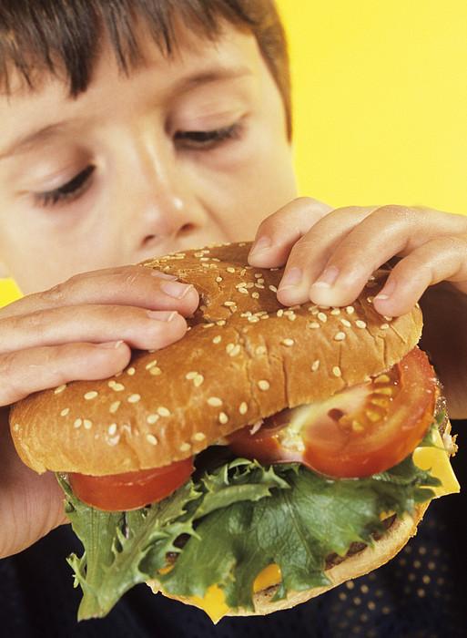 Fast Food Print by Ian Boddy