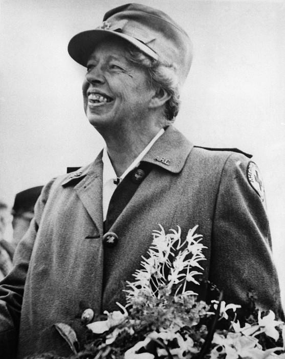 Fdr Presidency. Eleanor Roosevelt Print by Everett