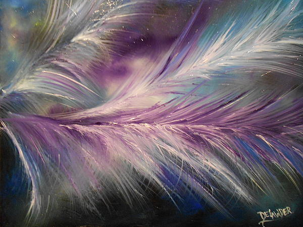 Mary DeLawder - Feathers