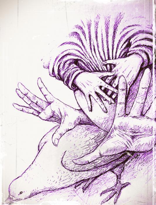 Fecundate A Future Of Peace Print by Paulo Zerbato