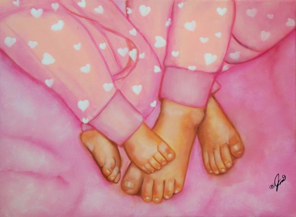 Feet Fete Print by Joni McPherson