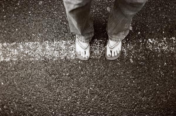 Feet Print by Linnea Tober