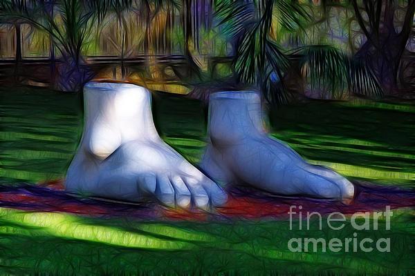 Darleen Stry - Feet Statue