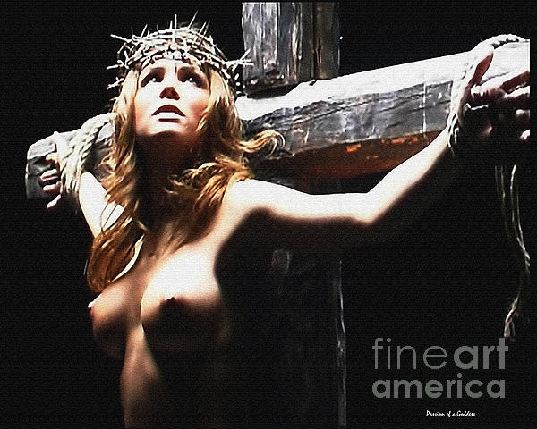 Female Christ Photograph  - Female Christ Fine Art Print