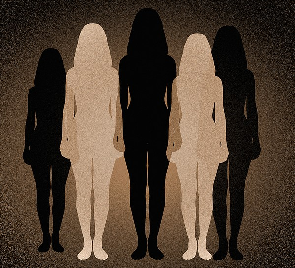 Female Identity, Conceptual Image Print by Victor De Schwanberg