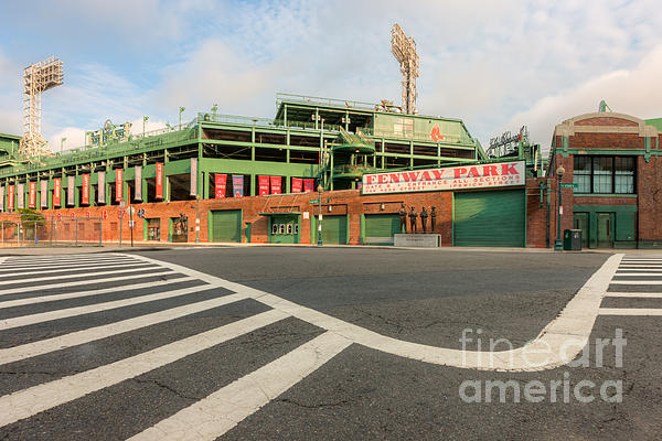 Fenway Park II Print by Clarence Holmes
