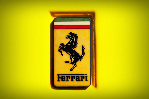 Ferrari Emblem By Bill Cannon