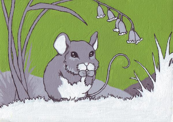 Field Mouse Print by Sarah Webb