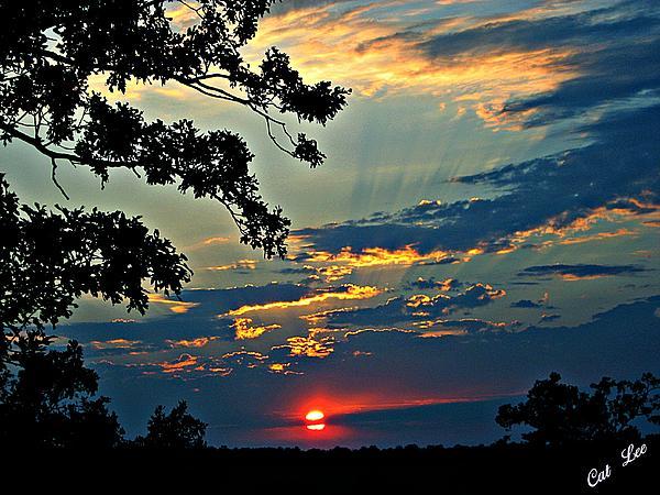 Cat Lee - Fiery Sunset Clouds