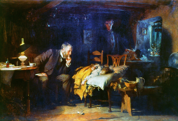 Fildes The Doctor 1891 Print by Granger