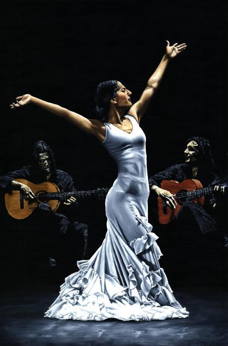 Finale Del Funcionamiento Del Flamenco Print by Richard Young