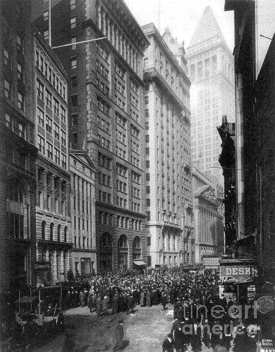 Financial Center, C1920 Print by Granger