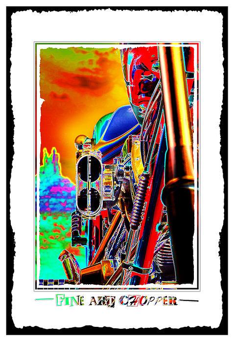 Fine Art Chopper I Print by Mike McGlothlen