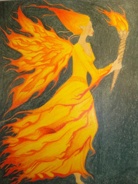 Fire fairy   Fairies, myths, and legends   Pinterest