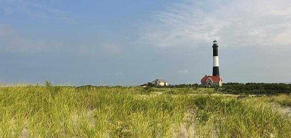 Fire Island Lighthouse Print by Vicki Jauron