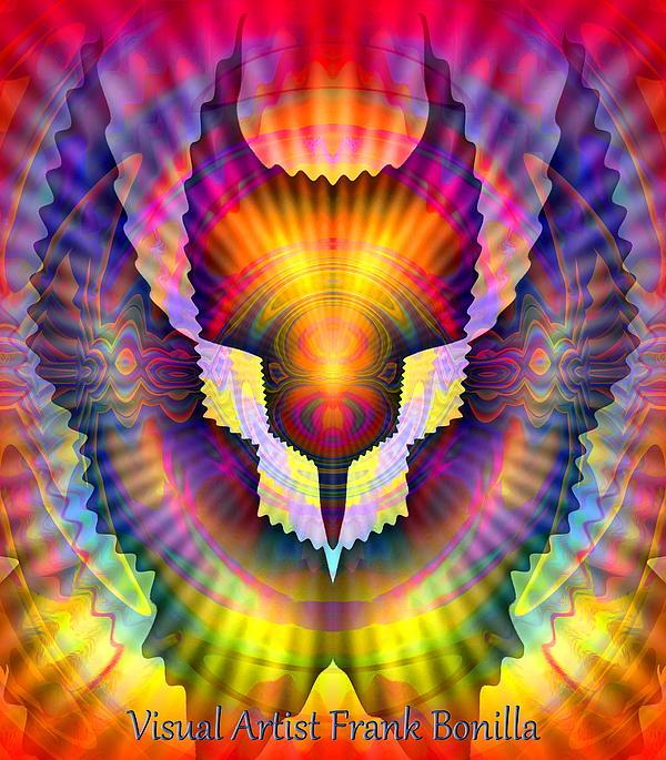 Firebird Print by Visual Artist  Frank Bonilla