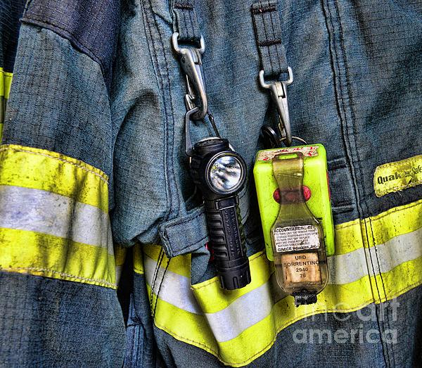 Fireman - The Fireman's Coat Print by Paul Ward