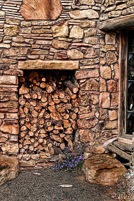 Firewood Print by Tom Prendergast