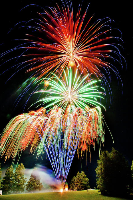 Niels Nielsen - Fireworks no.1