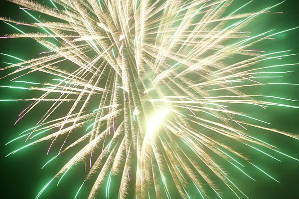 Fireworks Pyrography