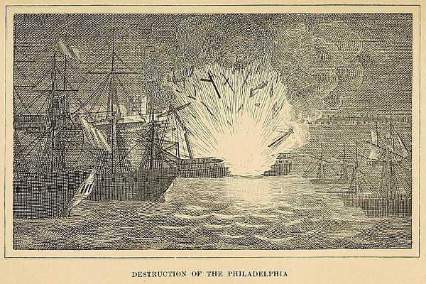 First Barbary War 1801-1805 Print by Everett