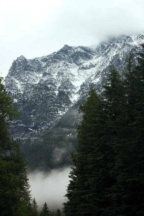 First Day In Glacier Print by Amanda Kiplinger