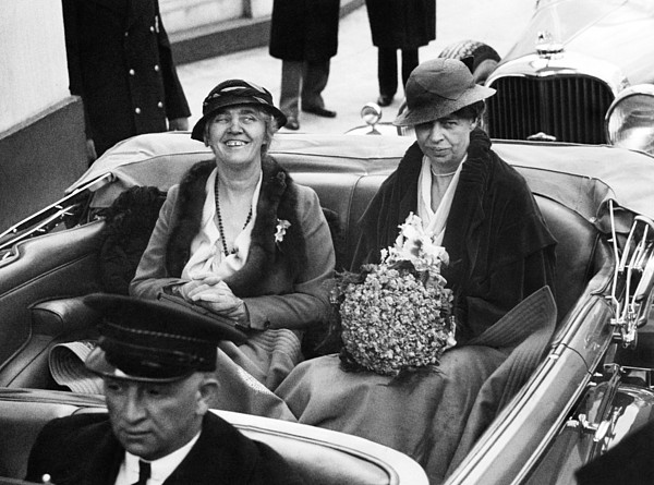 First Ladies Car At The 1933 Print by Everett