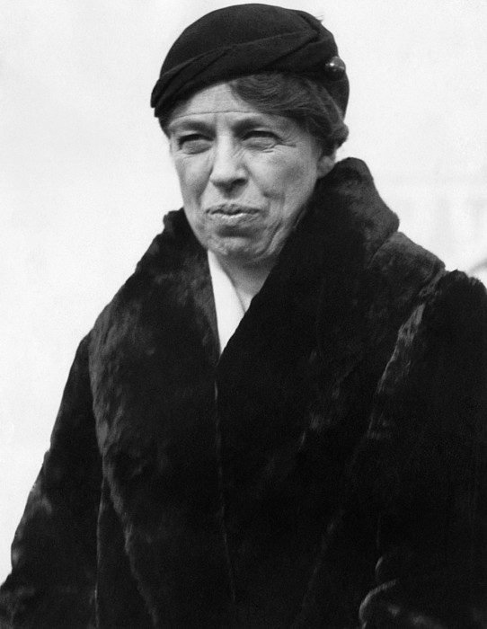 First Lady Eleanor Roosevelt Print by Everett