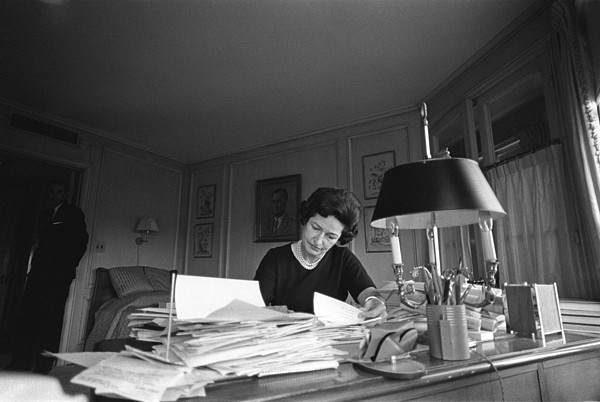 First Lady, Lady Bird Johnson, Working Print by Everett