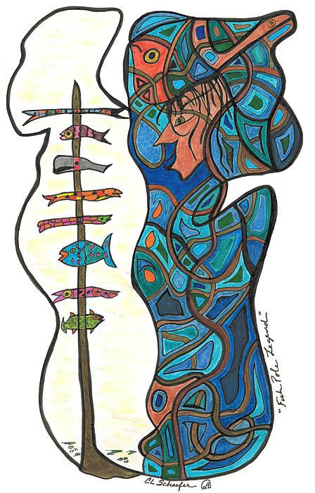 Carolyn L Schaefer - Fish Pole Legend