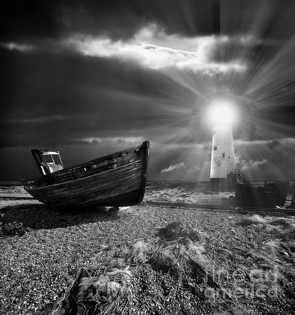 Meirion Matthias - Fishing Boat Graveyard 7