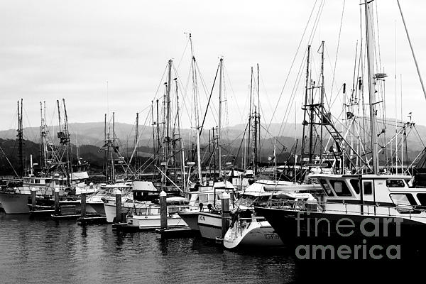 Fishing Boats . 7d8208 Print by Wingsdomain Art and Photography