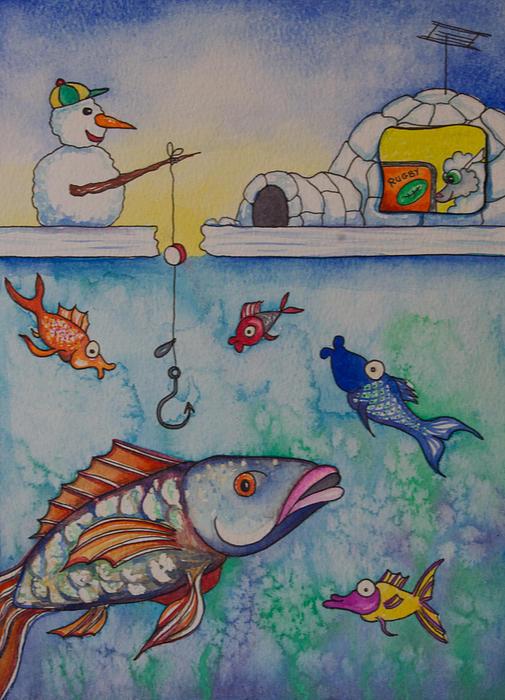 Nicole Ann OConnor - Fishing vs Rugby