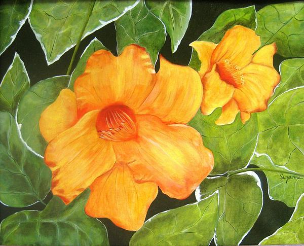 Suzanne Godau - Flaming Lillies