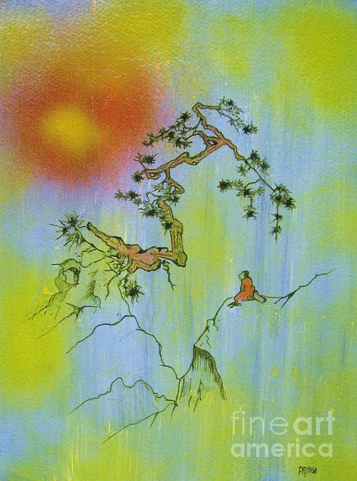 Flash Of Crimson Splendor Print by Roberto Prusso
